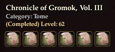 Chronicle of Gromok, Vol. III