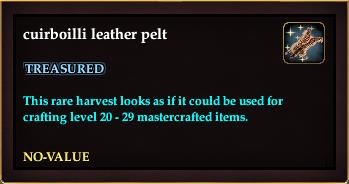 Cuirboilli leather pelt (Crate Reward)