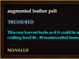 Augmented leather pelt (Version 1)