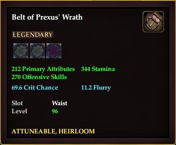 Belt of Prexus' Wrath