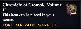 Chronicle of Gromok, Volume II