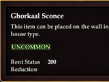 Ghorkaal Sconce