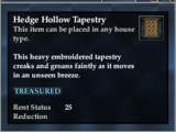 Hedge Hollow tapestry