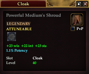 Powerful Medium's Shroud