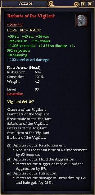 Barbute of the Vigilant