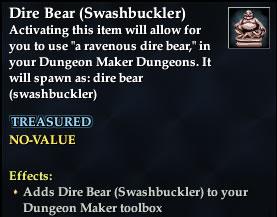 Dire Bear (Swashbuckler)