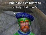 Philosopher Rhimes
