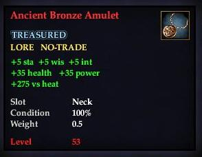 Ancient Bronze Amulet