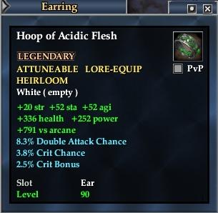 Hoop of Acidic Flesh