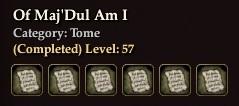 Of Maj'Dul Am I
