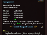 Twark Transport Totem (Quest Item)