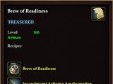 Brew of Readiness (QuestReward)