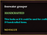 Freewater grouper