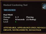 Hooked Gardening Tool