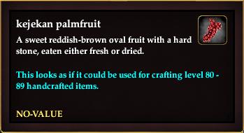 Kejekan palmfruit