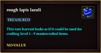 Rough lapis lazuli (Crate Reward)