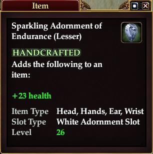 Sparkling Adornment of Endurance (Lesser)