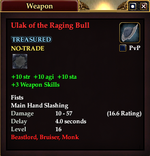 Ulak of the Raging Bull