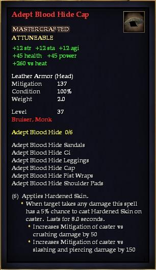 Adept Blood Hide Cap