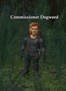 Commissioner Dogweed
