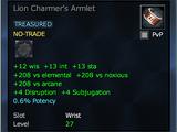 Lion Charmer's Armlet