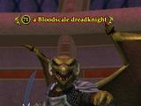 A Bloodscale dreadknight