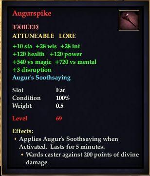 Augurspike (Version 1)