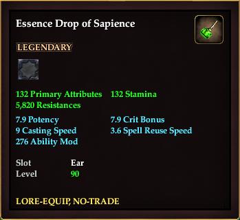 Essence Drop of Sapience