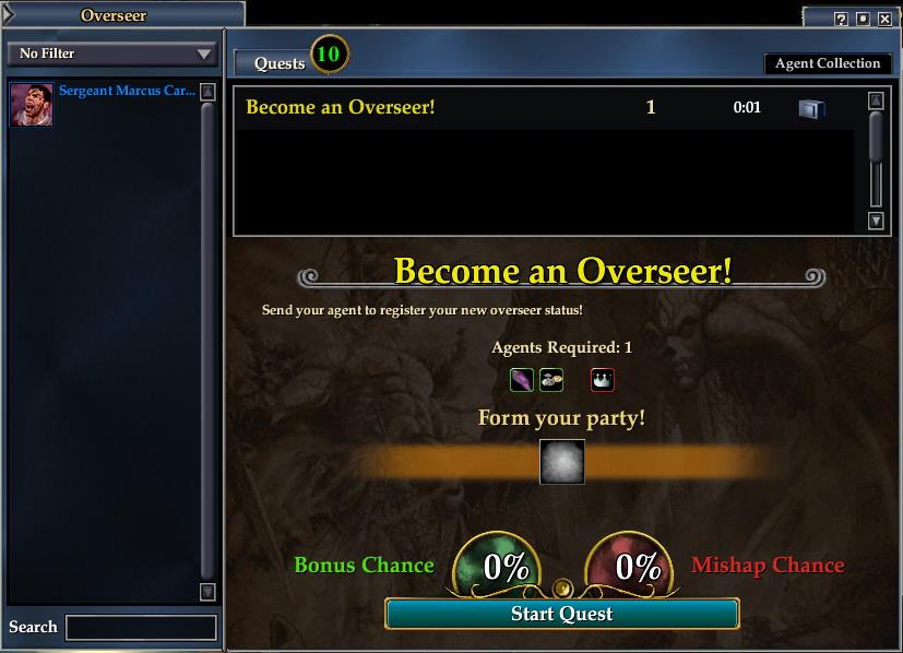 Overseer Feature