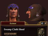Swamp Cloth Hood