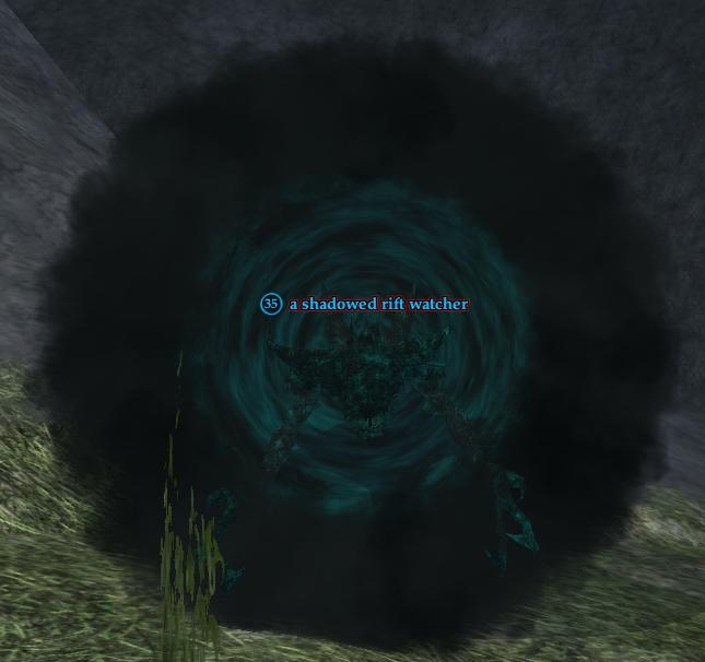 A shadowed rift watcher (Nektulos Forest)