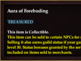 Aura of Foreboding