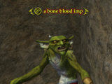 A bone blood imp
