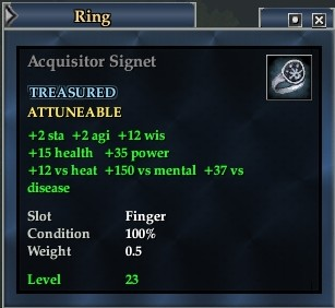 Acquisitor Signet