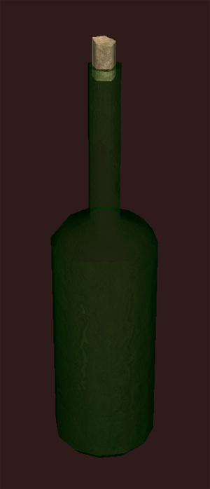 Bottle of Emerald Spirits