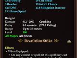 Heavy Blood Iron Wand of Devastation