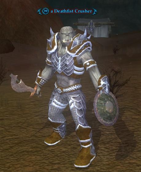 A Deathfist Crusher