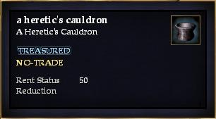 A heretic's cauldron