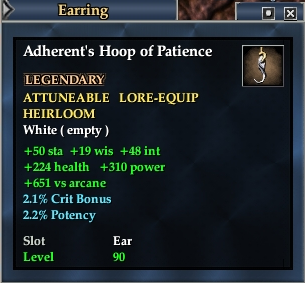 Adherent's Hoop of Patience