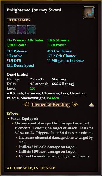 Enlightened Journey Sword