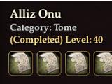 Alliz Onu (Collection)