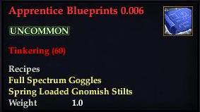 Apprentice Blueprints 0.006