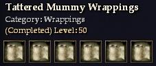 Tattered Mummy Wrappings
