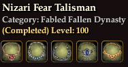 Nizari Fear Talisman