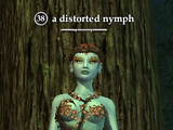 A distorted nymph