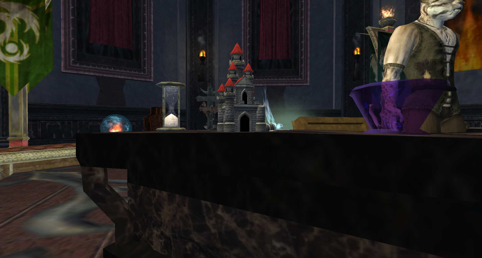 A Tiny Mischievious Castle