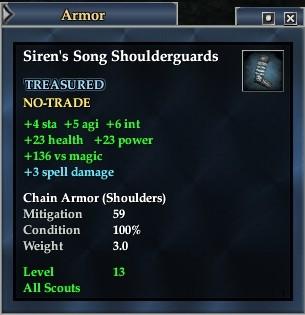 Siren's Song Shoulderguards