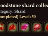 Bloodstone shard collection
