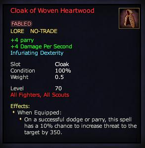 Cloak of Woven Heartwood (Version 1)