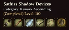Sathir's Shadow Devices